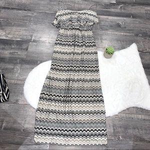 Just Taylor Maxi Dress Size 6